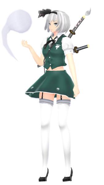 魂魄  妖夢  Ver2.00 • アールビット スタイル (短いスカート)