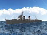 【MMD海軍】 特2A型駆逐艦「曙」最終武装 1.01