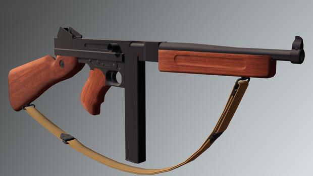 トンプソン短機関銃M1A1