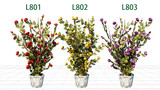 【MMDアクセサリ配布】薔薇の鉢植え  L8