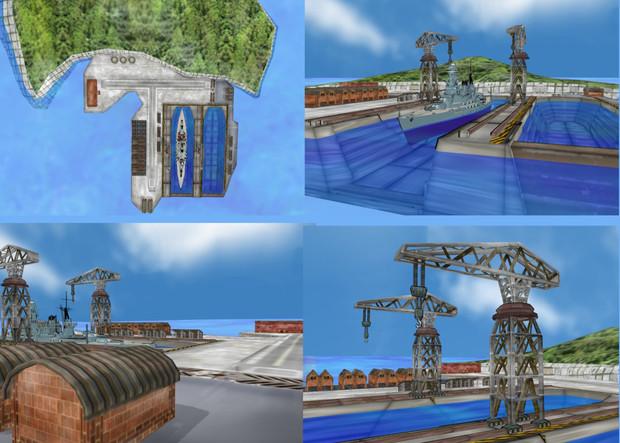 乾ドックと港湾施設ver1.0
