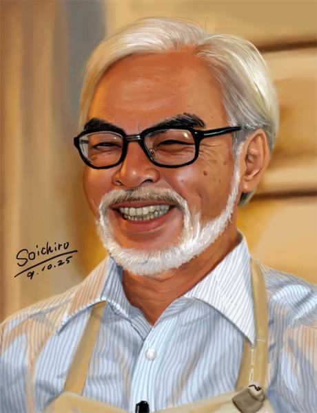 宮崎駿 を描く。