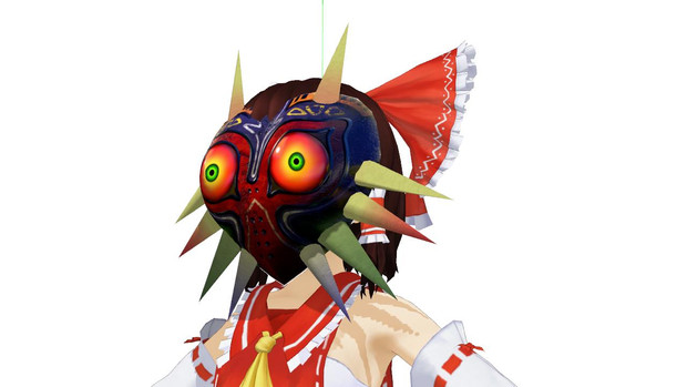 ムジュラの仮面作ってみた