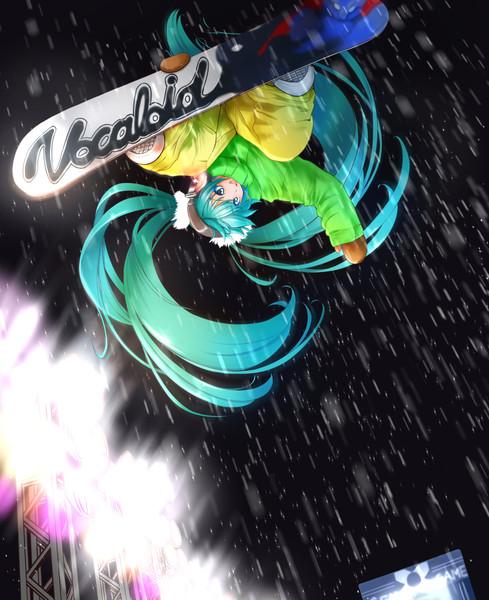 スノーボードミク