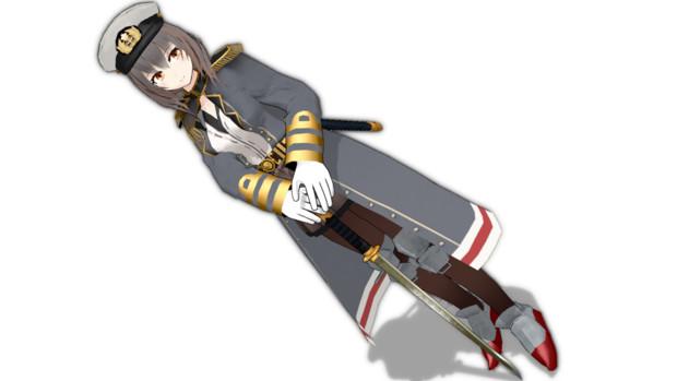 オリジナル艦娘モデル 戦艦三笠(仮配布)