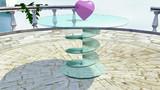 【MMDデータ配布あり】ガラスのテーブル