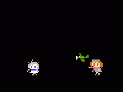 GIF:ほっぽちゃんのパックマンショー