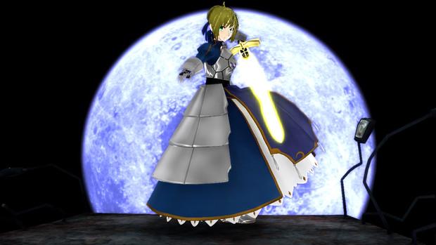 運命の夜 青き月