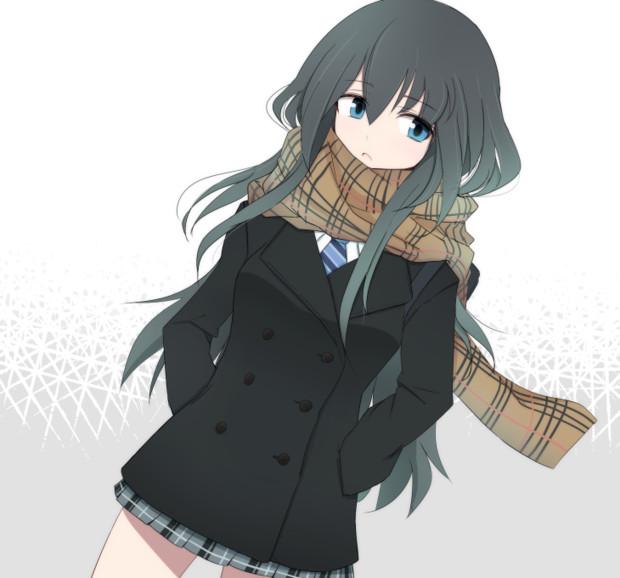 冬女子高生