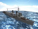 【MMD海軍】 特1型駆逐艦「薄雲」最終武装 1.0