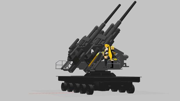 12.8 cm FlaK 40 ツヴィリング ...