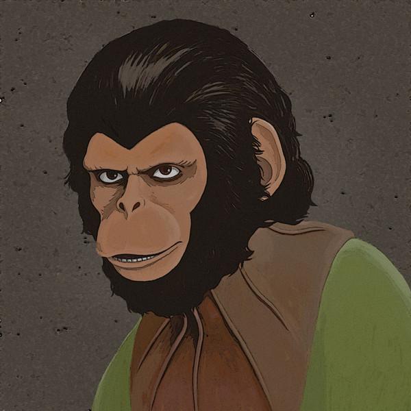 猿の惑星 はしもとはしこ さんのイラスト ニコニコ静画 イラスト