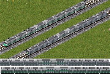 中央線 グリーン車連結編成