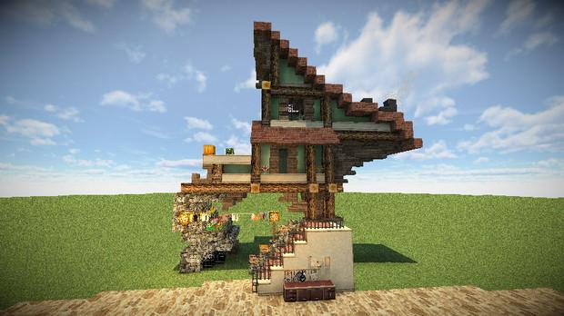 【Minecraft】私は北海道に住んでいます