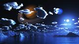 【MMDステージ配布】夜の惑星 P4【AL対応スカイドーム】
