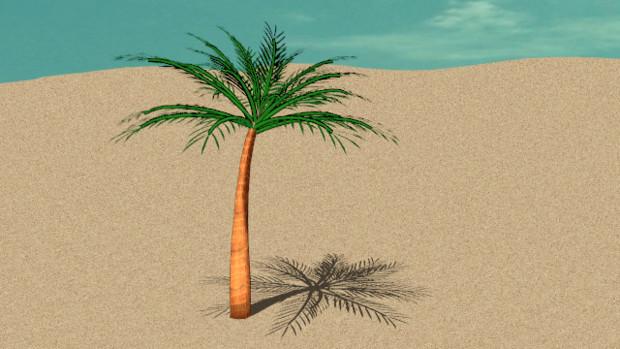 MMD椰子の木モデル