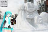 【雪ミク】さっぽろ雪まつり2015【瓜二つ】