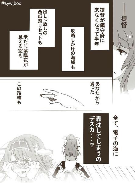 艦これ放置提督と金剛ちゃん漫画