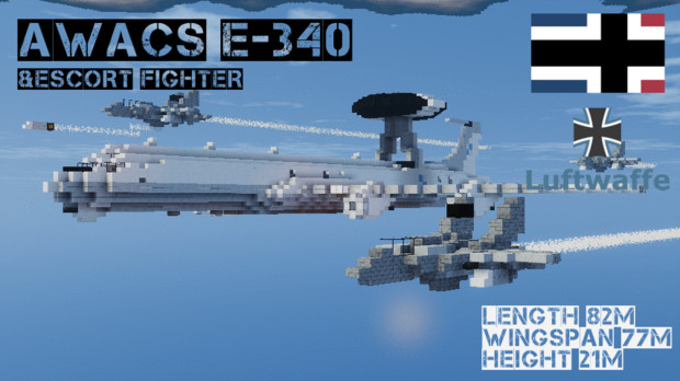 【Minecraft】AWACS