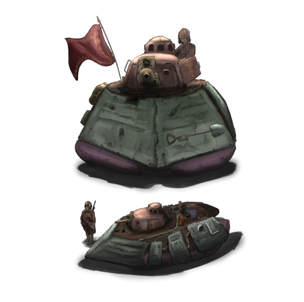 新型戦車ゼクセルシエ