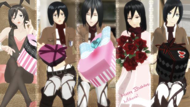 誕生 日 ミカサ