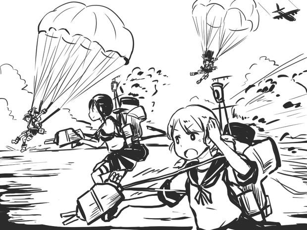 第11駆逐隊降下作戦