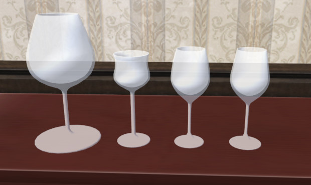 ワイングラスセット Ver.1.00