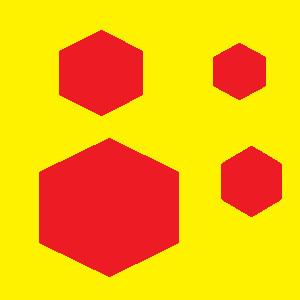 六角形か立方体