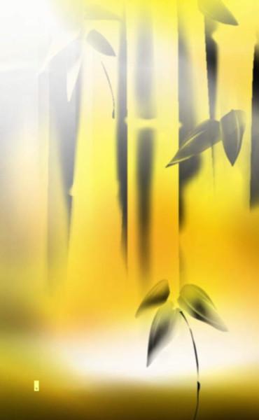 竹のある風景 07