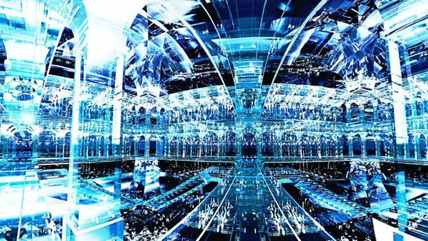 【MMDステージ配布】光の宮殿 Q5【AL対応スカイドーム】