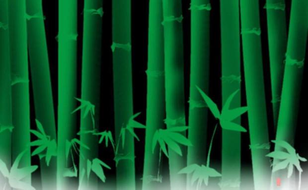 竹のある風景 23