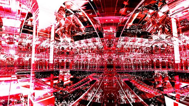 【MMDステージ配布】ルビーの宮殿 Q9【AL対応スカイドーム】