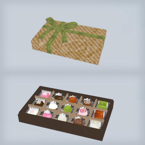 【MMD】包装されたチョコ配布します