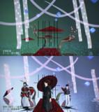 梅と垣根のステージ【ステージ配布あり】