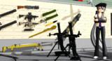 【MMDSHOTSHOW2015】対装甲&歩兵溜弾兵器 MMD造兵廠開発局ミリタリーP分室ブース