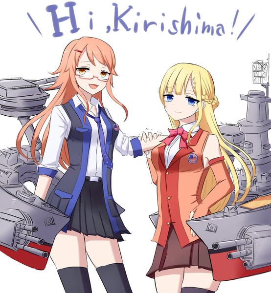 USSワシントン&サウスダコタ