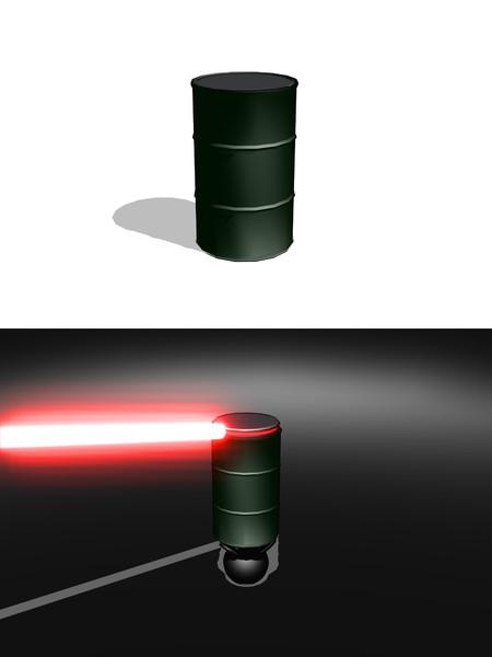 【MMD】ドラム缶
