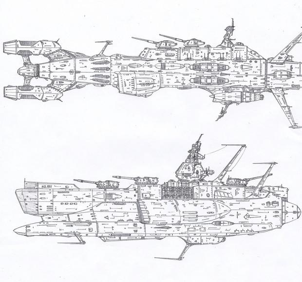 歴代地球防衛軍主力戦艦<Part2>