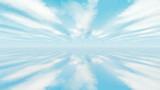 【MMDステージ配布】淡い青空 S7【スカイドーム】