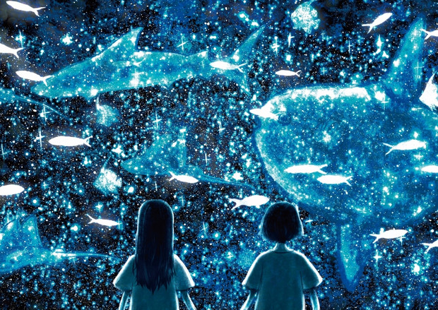 宇宙でみた魚
