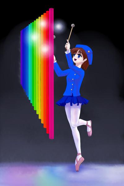 虹色のベル