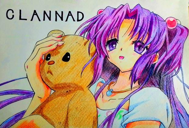 模写-「CLANNAD」