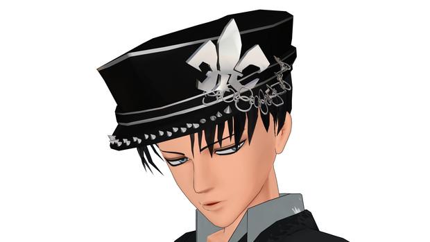 【MMDアクセサリ配布】軍帽的なもの