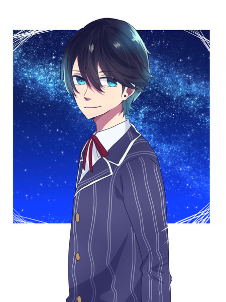 兼さん見て 星が綺麗だよ 湊人 さんのイラスト ニコニコ静画 イラスト