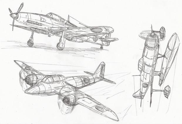 戦闘機の練習 その1