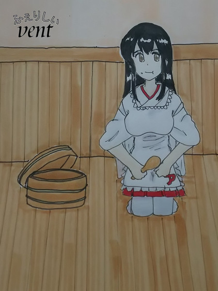 赤城先輩が食事の手伝いをしてくれたらしいです!