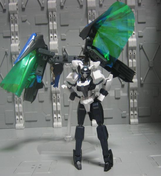 GNX-D001 ガンドラゴン(仮完成状態) コアガンダム(仮称)