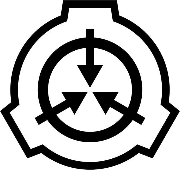 SCP財団ロゴ マークのみ(透過png)