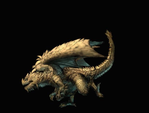 ドラゴンがダッシュして胃袋にご招待するぜ