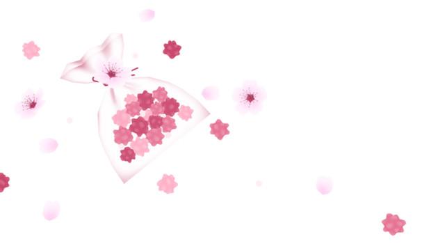 金平糖と桜 Azyazya さんのイラスト ニコニコ静画 イラスト